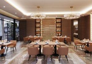 thiết kế khách sạn wyndham cam ranh - phong ăn riêng 2