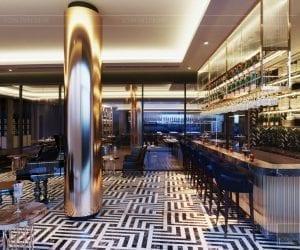 thiết kế khách sạn wyndham cam ranh - phòng giải trí 5