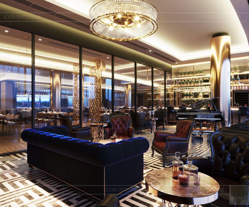 thiết kế khách sạn wyndham cam ranh - phòng giải trí 1