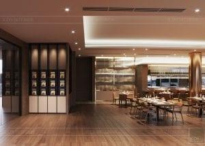 thiết kế khách sạn wyndham cam ranh - nhà hàng tầng 2 3