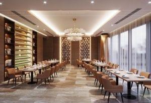 thiết kế khách sạn wyndham cam ranh - phong ăn riêng 3