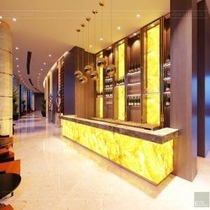 thiết kế khách sạn wyndham cam ranh - sảnh chính 6