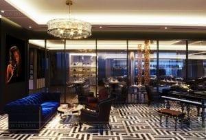 thiết kế khách sạn wyndham cam ranh - phòng giải trí 4