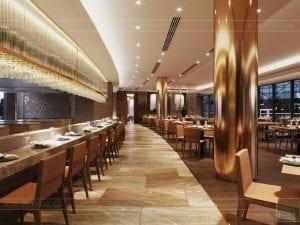 thiết kế khách sạn wyndham cam ranh - nhà hàng tầng 2 2