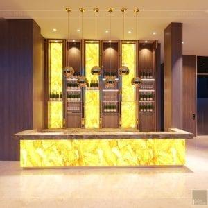 thiết kế khách sạn wyndham cam ranh - sảnh chính 5