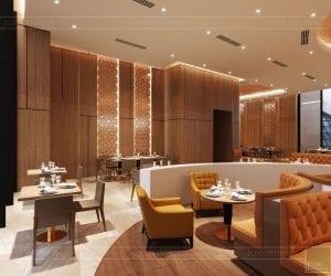 thiết kế khách sạn wyndham cam ranh - nhà hàng tầng 9