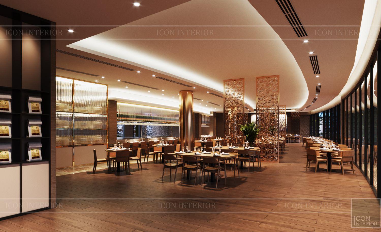 thiết kế khách sạn wyndham cam ranh - nhà hàng tầng 2 4