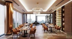 thiết kế khách sạn wyndham cam ranh - phong ăn riêng 1