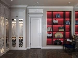 Thiết kế nội thất biệt thự Lavilla - phòng ngủ master 5
