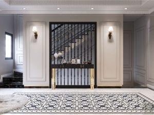 Thiết kế nội thất biệt thự Lavilla - bàn console