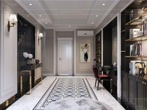 Thiết kế nội thất biệt thự Lavilla - không gian sinh hoạt chung tầng 2 2