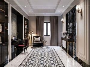 Thiết kế nội thất biệt thự Lavilla - không gian sinh hoạt chung tầng 2 1