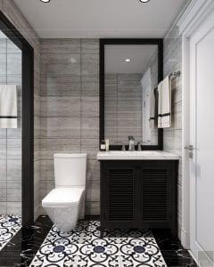 Thiết kế nội thất biệt thự Lavilla - phòng ngủ master 6
