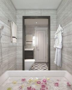 Thiết kế nội thất biệt thự Lavilla - phòng ngủ master 8