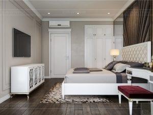 Thiết kế nội thất biệt thự Lavilla - phòng ngủ nhỏ 1 2