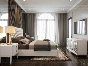 Thiết kế nội thất biệt thự Lavilla - phòng ngủ nhỏ 1 3