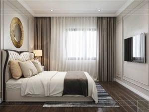 Thiết kế nội thất biệt thự Lavilla - phòng ngủ nhỏ 2 1