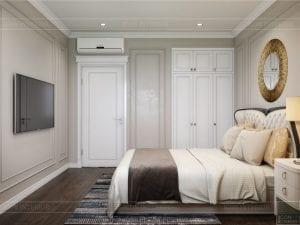 Thiết kế nội thất biệt thự Lavilla - phòng ngủ nhỏ 2 3