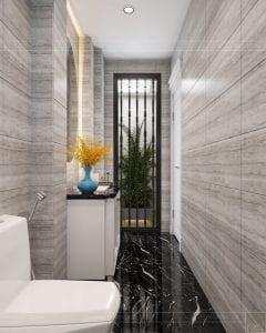 Thiết kế nội thất biệt thự Lavilla - phòng tắm tầng 3 3