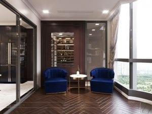 thiết kế nội thất the landmark 81 - phòng thư giãn 4