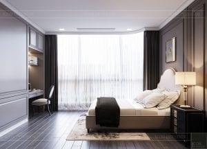 thiết kế nội thất the landmark 81 - phòng ngủ 1