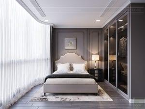 thiết kế nội thất the landmark 81 - phòng ngủ 2