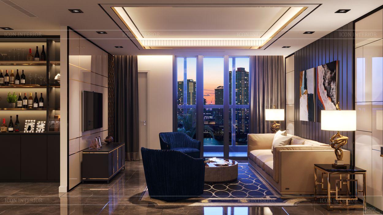 thiết kế nội thất the landmark 81 - phong cách hiện đại 2