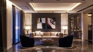 thiết kế nội thất the landmark 81 - phong cách hiện đại 3