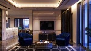 thiết kế nội thất the landmark 81 - phong cách hiện đại 4