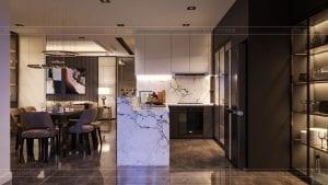 thiết kế nội thất the landmark 81 - phong cách hiện đại 7