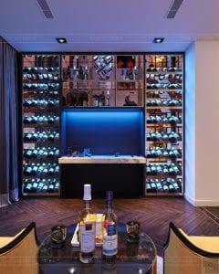 thiết kế nội thất the landmark 81 - tủ rượu