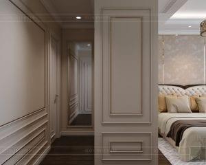 phong cách tân cổ điển nhẹ nhàng - phòng ngủ master 4