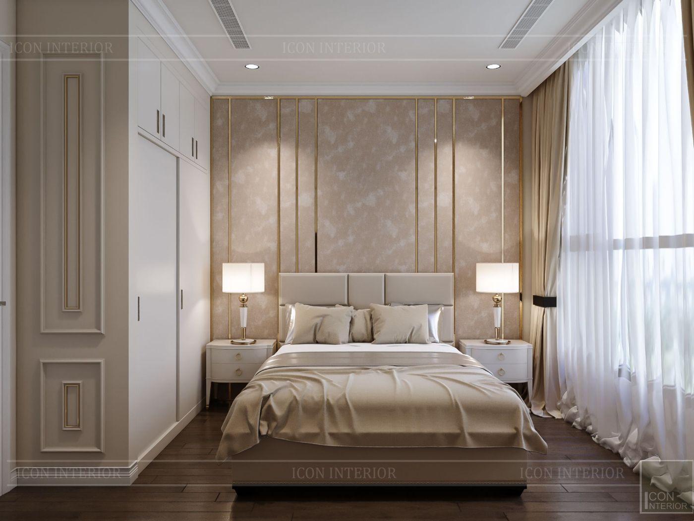 phong cách tân cổ điển nhẹ nhàng - phòng ngủ 1
