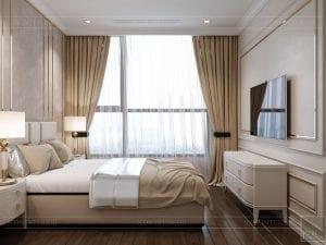 phong cách tân cổ điển nhẹ nhàng - phòng ngủ 2