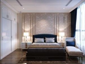 phong cách tân cổ điển nhẹ nhàng - phòng ngủ 3