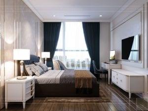 phong cách tân cổ điển nhẹ nhàng - phòng ngủ 4