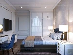 phong cách tân cổ điển nhẹ nhàng - phòng ngủ 5