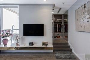 thiết kế thi công nội thất chung cư - phòng ngủ master 1