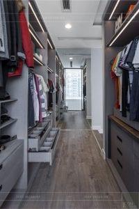 thiết kế thi công nội thất chung cư - tủ quần áo