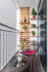 thiết kế thi công nội thất chung cư - ban công 1