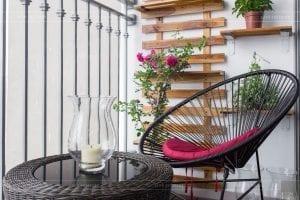 thiết kế thi công nội thất chung cư - ban công 2