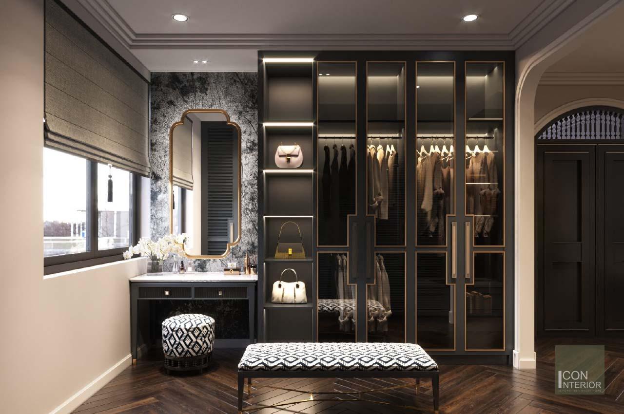 closet phong cách indochine