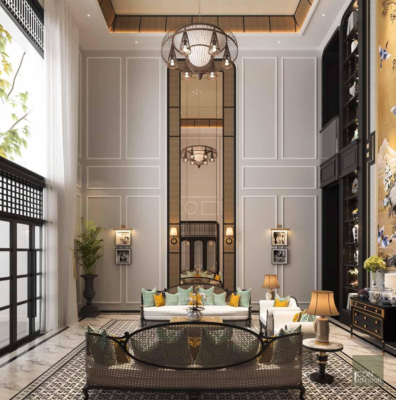 kiến trúc phong cách indochine