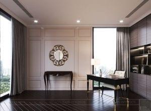 phong cách thiết kế hiện đại châu âu luxury 6 - phòng làm việc 3