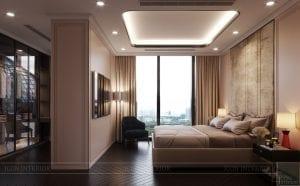 phong cách thiết kế hiện đại châu âu luxury 6 - phòng ngủ master 3