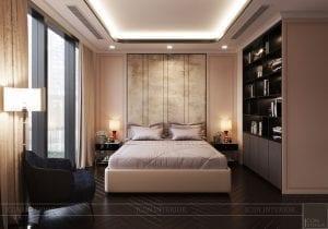 phong cách thiết kế hiện đại châu âu luxury 6 - phòng ngủ master 4