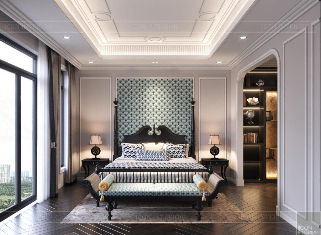 Phòng ngủ Indochine xuất sắc