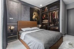 thi công nội thất căn hộ chung cư 3 phòng ngủ - phòng ngủ nhỏ 2