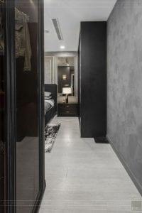 thi công nội thất căn hộ chung cư 3 phòng ngủ - phòng ngủ master 1