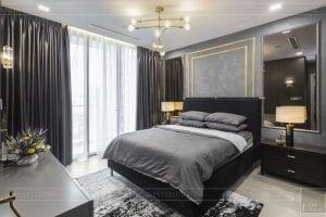 thi công nội thất căn hộ chung cư 3 phòng ngủ - phòng ngủ master 2